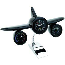 Jet Airplane Clock & Weather Station