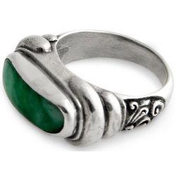 Men's Wisdom Jade Ring