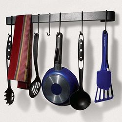 Steel Wall-Mount Utensil Rack