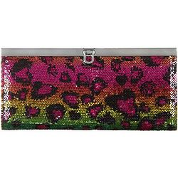 Rainbow Leopard Bayharbour Clutch
