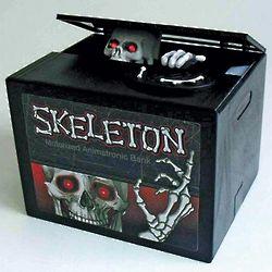 Skeleton Animatronic Bank