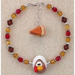 Patty Pilgrim Thanksgiving Bracelet for Kids