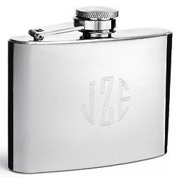 Shiny and Slender Stainless Steel Flask
