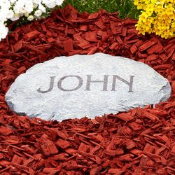 Personalized Cast Resin Garden Stepping Stone