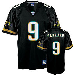 David Garrard Jacksonville Jaguars Replica Black Jersey