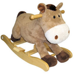 Harry the Horse Toddler Rocking Horse with Sound