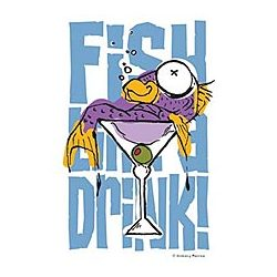 Fish Drink T-Shirt