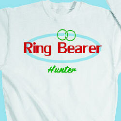 Ring Bearer Retro Youth Sweatshirt