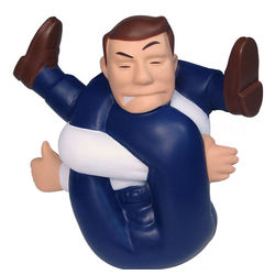 Stressed Out Man Stress Toy
