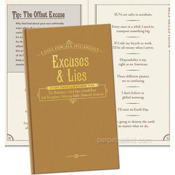 Excuses & Lies Book