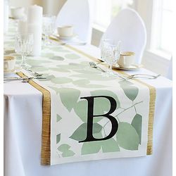 Fresh Foliage Decorative Table Runner