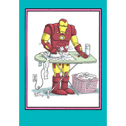 Iron Man Mother's Day Card
