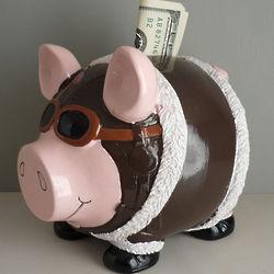 Pilot Piggy Bank