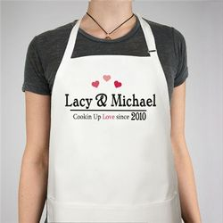 Cookin' Up Love Personalized Apron