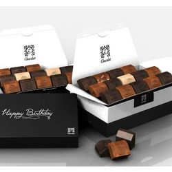 Happy Heavenly Birthday French Chocolates Gift Box