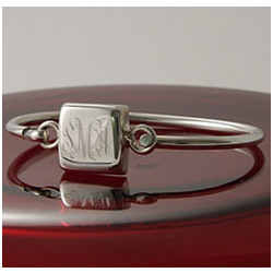 Personalized Square Bangle