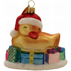 Quack Sleeps Lightly Ornament