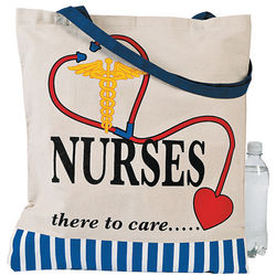 Nurses Design Tote Bag
