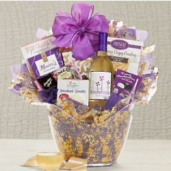 Windwhistle Sweet Moscato Wine Gift Basket