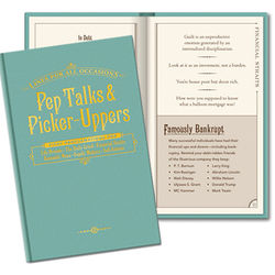 Pep Talks & Picker Uppers Book