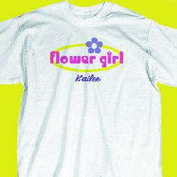 Flower Girl Retro Youth T-Shirt