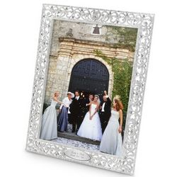 Park Avenue Crystal Accented 8x10 Picture Frame