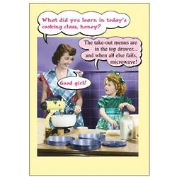 Microwave Funny Mother's Day Greeting Card