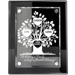The Life Of Our Family Engraved Plaque