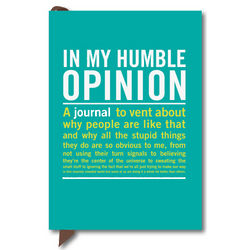 Mini Humble Opinion Journal