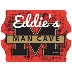 Personalized Stadium Man Cave Vintage Tavern Sign