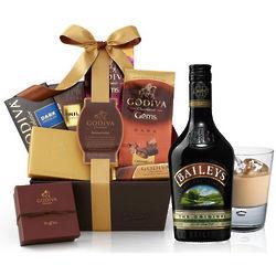 Baileys & Godiva Chocolate Gift Basket
