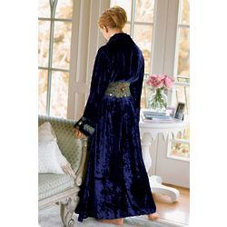 Embellished Starlet Velvet Robe