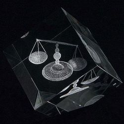 Large Scales Of Justice Paperweight