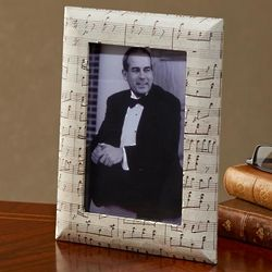Music Sheet Picture Frame
