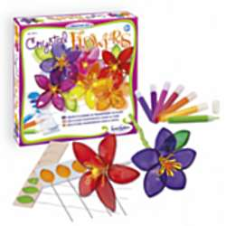 Stained-Glass Flower Art and Crafts Kit