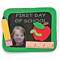 First Day of School Photo Frame Magnet Craft Kit