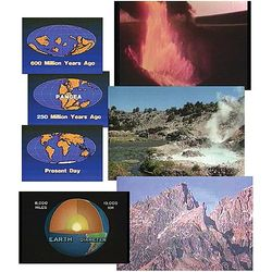 Formation of Continents and Mountains DVD