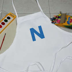 Embroidered Youth Apron