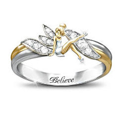 'Embrace The Magic' Tinker Bell Ring