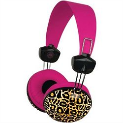 Macbeth Large Leopard Print Headphones