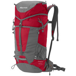 Marmot Kompressor Summit 28L Backpack in Fire/Flint