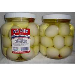 2 Jars of Red Hot Pickled Eggs