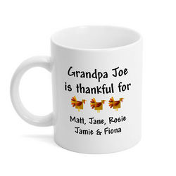Thanksgiving Blessings Mug for Grandparents