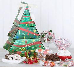Christmas Tree Gift Tower