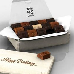 Birthday Sunrise French Chocolates Gift Box