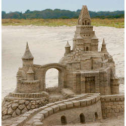 Sand Castle Special with Form Set and Sand Tools