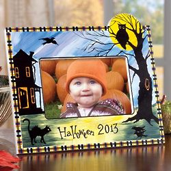 2013 Hand-Painted Halloween Frame