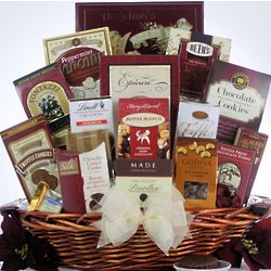 Peace & Prosperity Large Holiday Christmas Chocolate Gift Basket