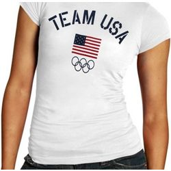 USA Ladies Fired Up T-Shirt