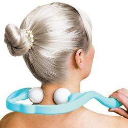 Twin Roller Self Neck Massager
